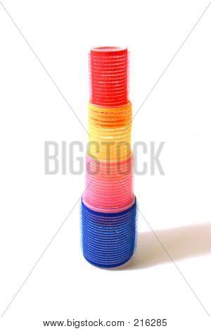 Velcro Hair Curler Tower