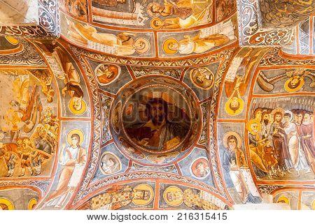 Dark Church - Cappadocia, Turkey
