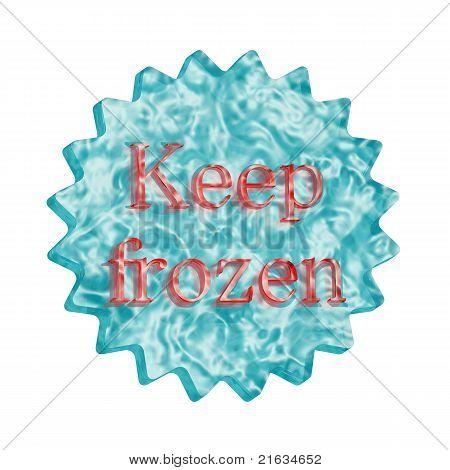 Button Icon: Keep Frozen