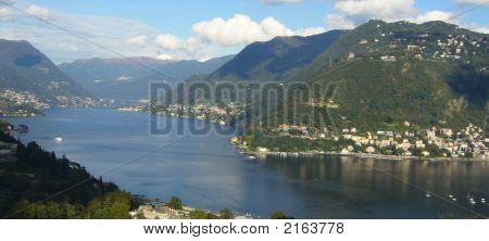 Lake Como Panaromic