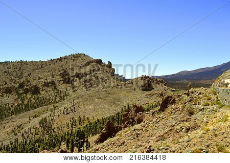Mount Teide National Park in Tenerife the Canary Islands
