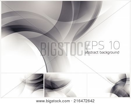 Circle abstract background vector series. Suitable for your design element and background