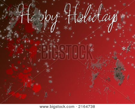 Grungy Christmas Greeting