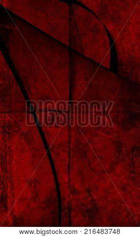 Abstract red black background. Red and black. Red style. Grunge red. Red background. Crunge background. Red. Dramatic background.