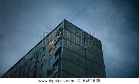 Soviet  style old apartments in Kharkov Ukraine
