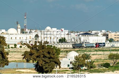 Building of the Government of Kairouan Governorate in Tunisia