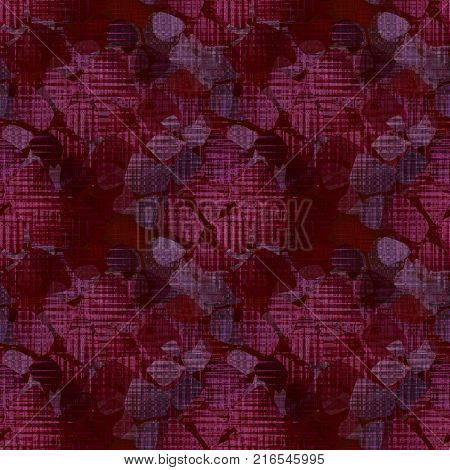 Seamless red dark floral textured design pattern wallpaper, vintage