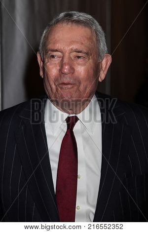 NEW YORK, NY - NOVEMBER 27: Dan Rather attends the 2017 IFP Gotham Awards at Cipriani Wall Street on November 27, 2017 in New York City.