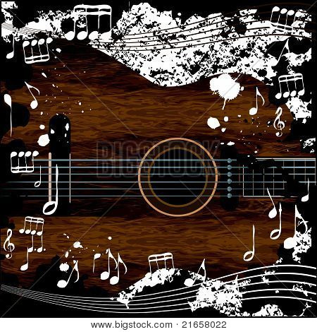 Abstract Musiical Background