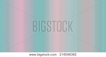 Seamless strips pattern in blue and pink, seamless zig zag lines, abstract vector texture, psychedelic hatch background, halftone effect, seamless fabric print, textured monotone background