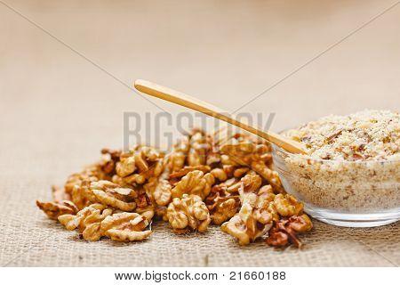 Spoon In Walnut Ground