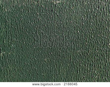 Green Stippled Paint