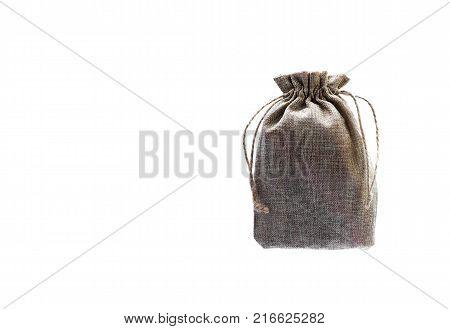 Sack Bag on White Background.Sack Bag on White Background.