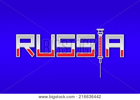 RUSSIA, 6 December 2017 - IOC Bans Russia from the 2018 Pyeongchang Winter Olympics for doping scandal.