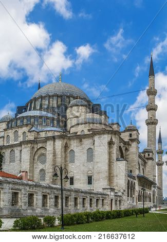 The Suleymaniye Mosque is an Ottoman imperial mosque located on the Third Hill of Istanbul Turkey. It is the largest mosque in the city