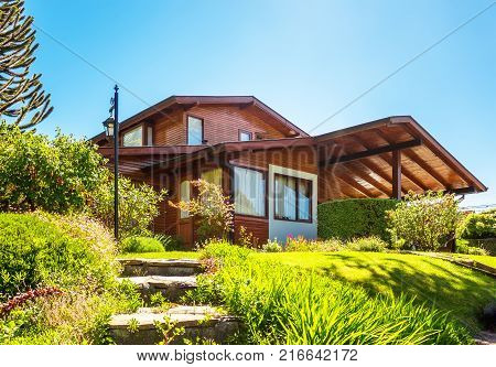 Chilean upper middle class house in Valdivia