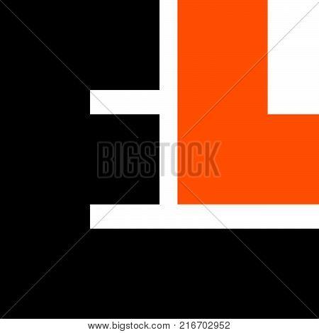 Modern Logo Solution Letter E L, L E Logo Design Template Vector
