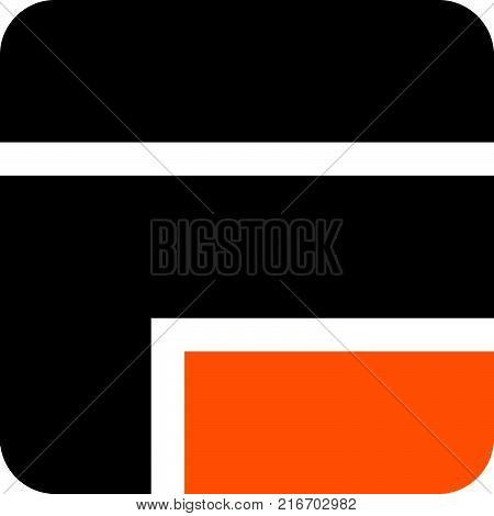 Modern Logo Solution Letter E F, F E Logo Design Template Vector