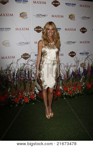 LOS ANGELES, CA - MAY 19: Jasmine Dustin arrives at the 11th annual Maxim Hot 100 Party at Paramount Studios on May 19, 2010 in Los Angeles, California