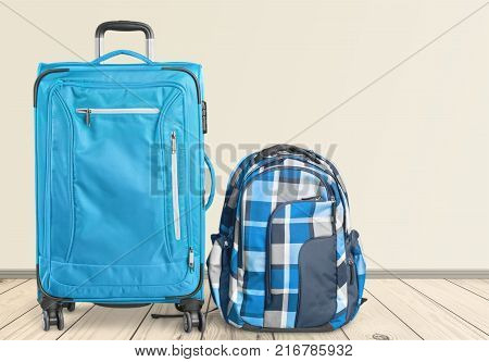 Pack travel case backpack suitcase leisure large