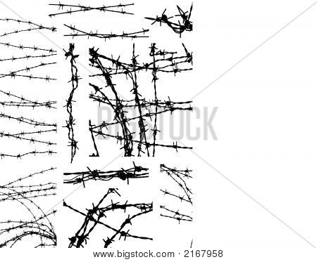 Barbed Wire Elements