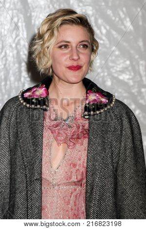 NEW YORK, NY - NOVEMBER 27: Greta Gerwig attends the 2017 IFP Gotham Awards at Cipriani Wall Street on November 27, 2017 in New York City.