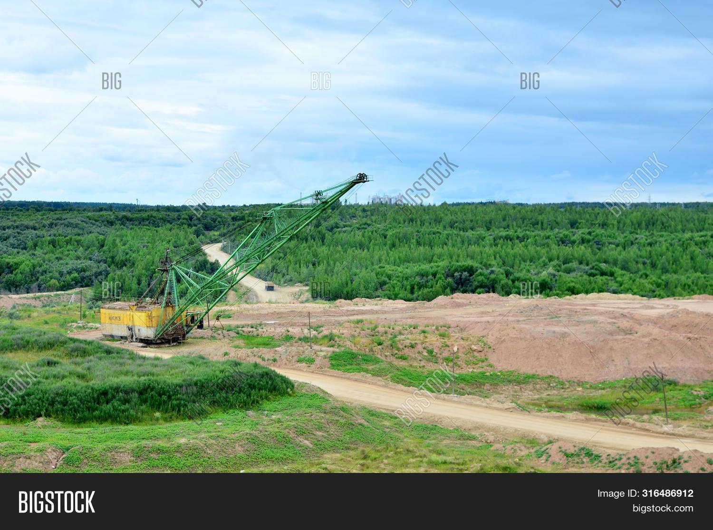 Biggest Excavator Image Photo Free Trial Bigstock