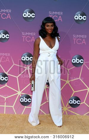 LOS ANGELES - AUG 15:  Tika Sumpter at the ABC Summer TCA All-Star Party at the SOHO House on August 15, 2019 in West Hollywood, CA