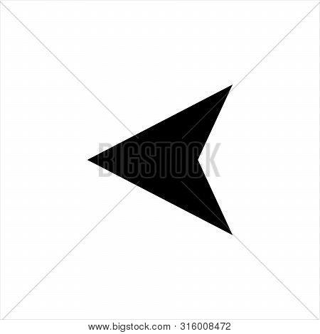 Left Arrow Icon. Arrow Simple Illustration For The Web.