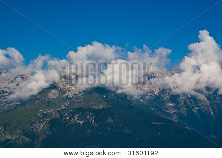 Trentino mountain scenery