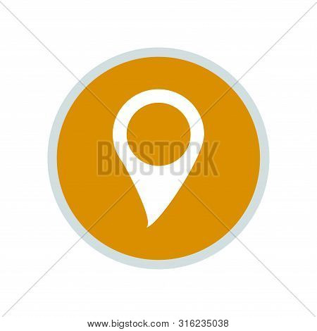 Location Icon, Location Icon Round, Location Icon Circle,  Location Icon Vector, Location Pin Icon V