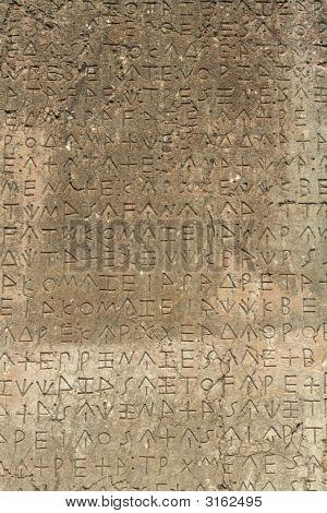 Ancient Lykia Tablet