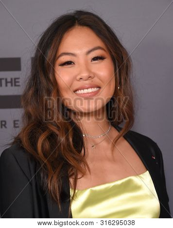 LOS ANGELES - AUG 04:  Nicole Kang arrives for the CW's Summer TCA All Star Party on August 04, 2019 in Beverly Hills, CA