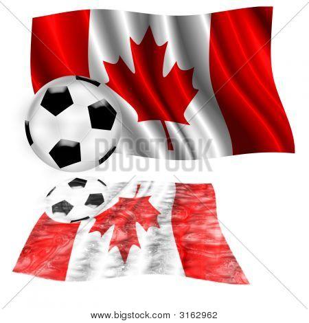 Football Flag Canada