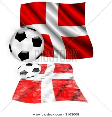 Football Flag Switzerland