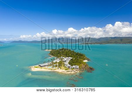 Whitsundays, Queensland - Aug 5, 2019: Daydream Island Resort Was Recently Re-opened After It Suffer