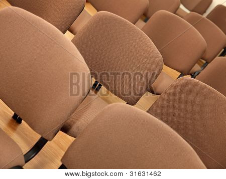 Rows Of Office Chairs