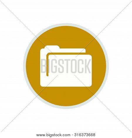Folder Icon, Folder Icon Circle, Folder Icon Round, Folder Icon Eps, Folder Icon Flat . Folder Icon