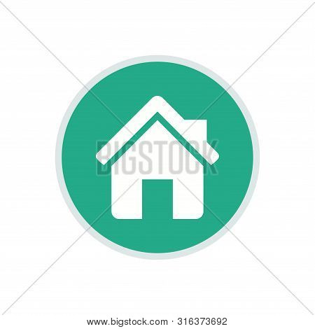 House Icon, House Icon Circle, House Icon Round, House Icon Eps, House Icon Flat . House Icon Trendy