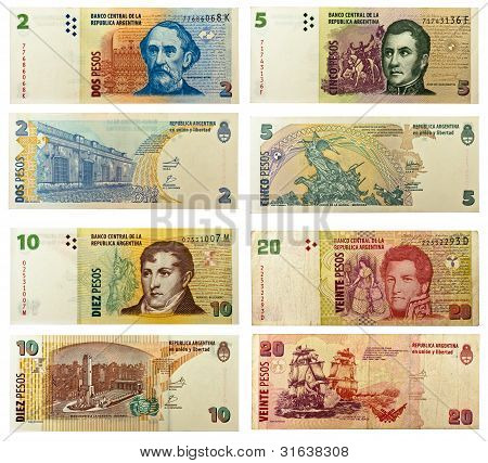 Argentinian Banknotes
