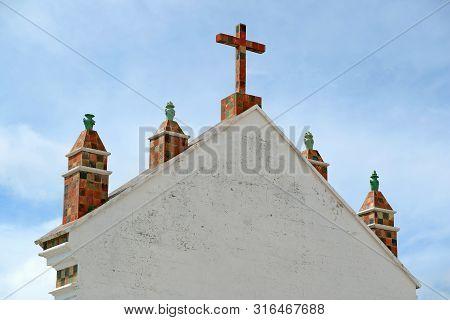 Decorative Roof Of Basilica Of Our Lady Of Copacabana, Copacabana City, Bolivia, South America