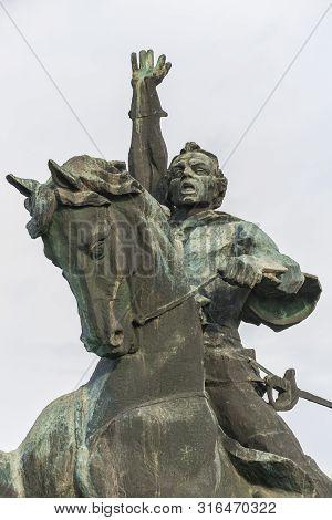 Monument To Suvorov In Tiraspol, Moldova