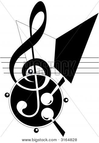 Abstract Music Theme