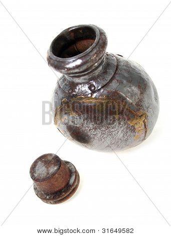 Bottle Silver Perfume Oil