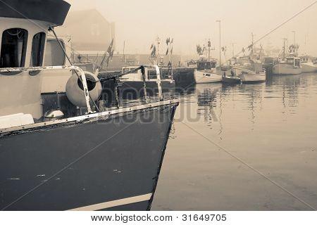 Trawler Fishing Boat Industry Denmark