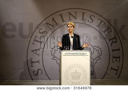 Denmark_ms.helle Thorning-schmidt_danish Prime Minister