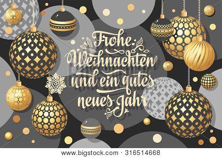 Christmas. Weihnachten. Noel. German Christmas In Different Languages. Deutsche Holiday Weihnachtsfe