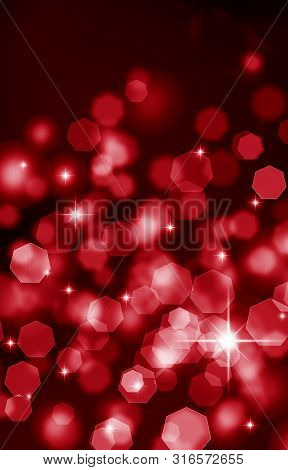 Abstract, Abstract ,red Background, Background, Black, Spot ,bokeh, Bright ,holiday ,christmas ,colo