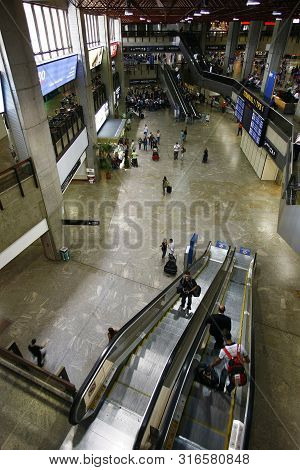 Passenger Terminal From Governador Franco Montoro International Airport