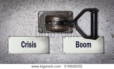Wall Switch Boom Versus Crisis